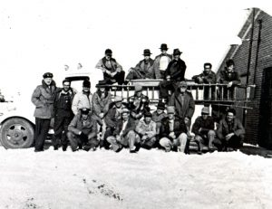 Black and white photo of ACFR staff from the 1930's