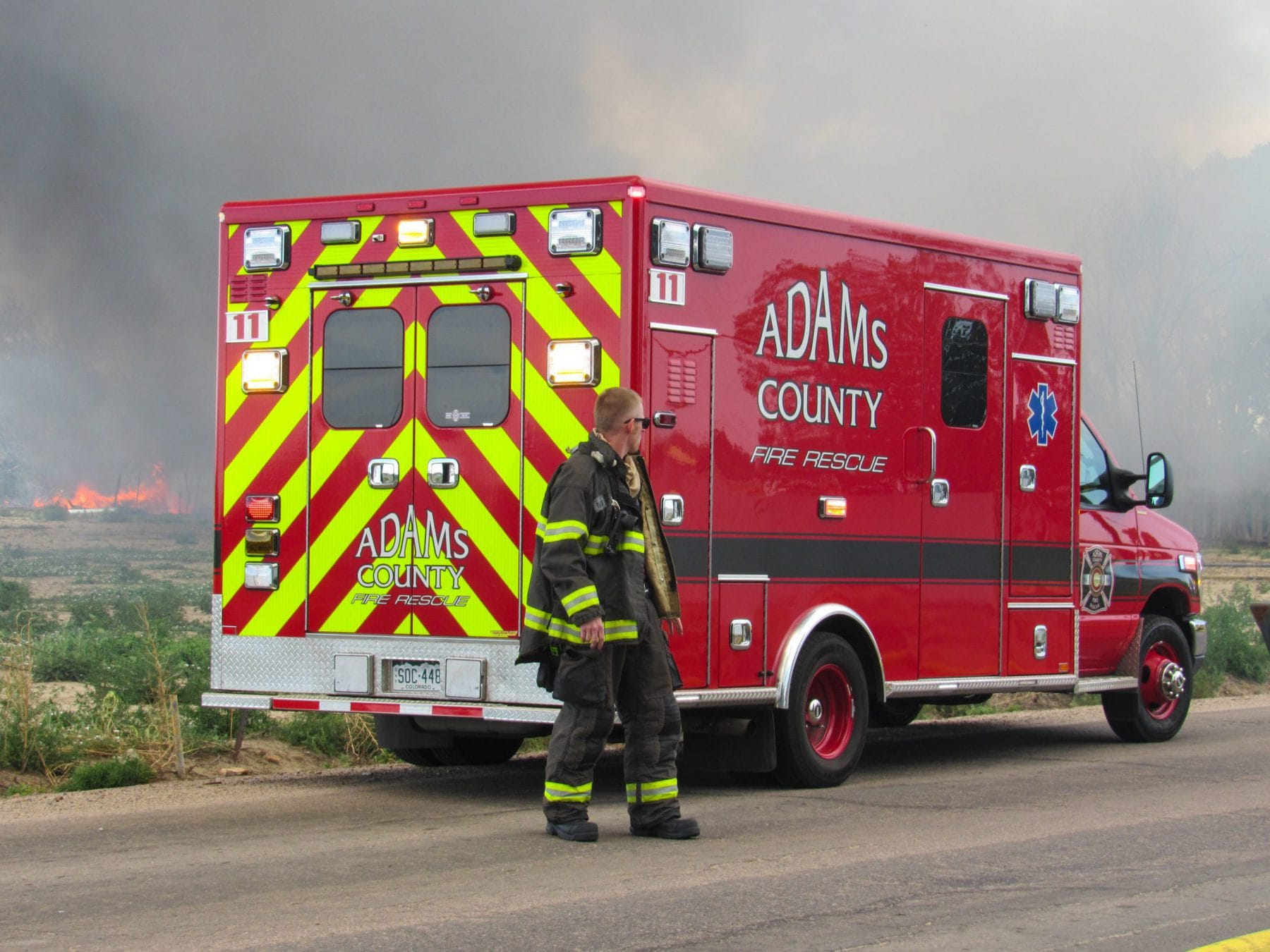 Fire Protection services from Adams County Fire Rescue