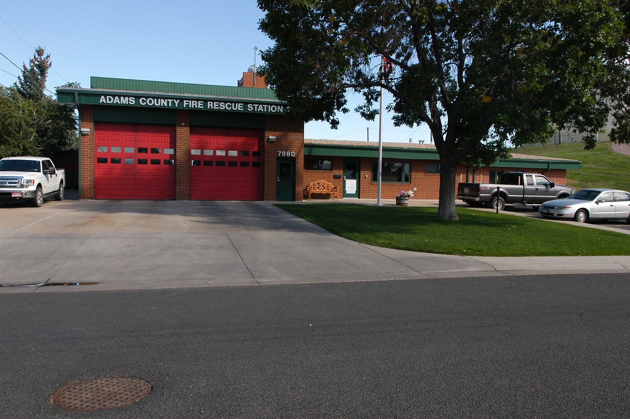 Street view of Adams County Fire Rescue Station 11
