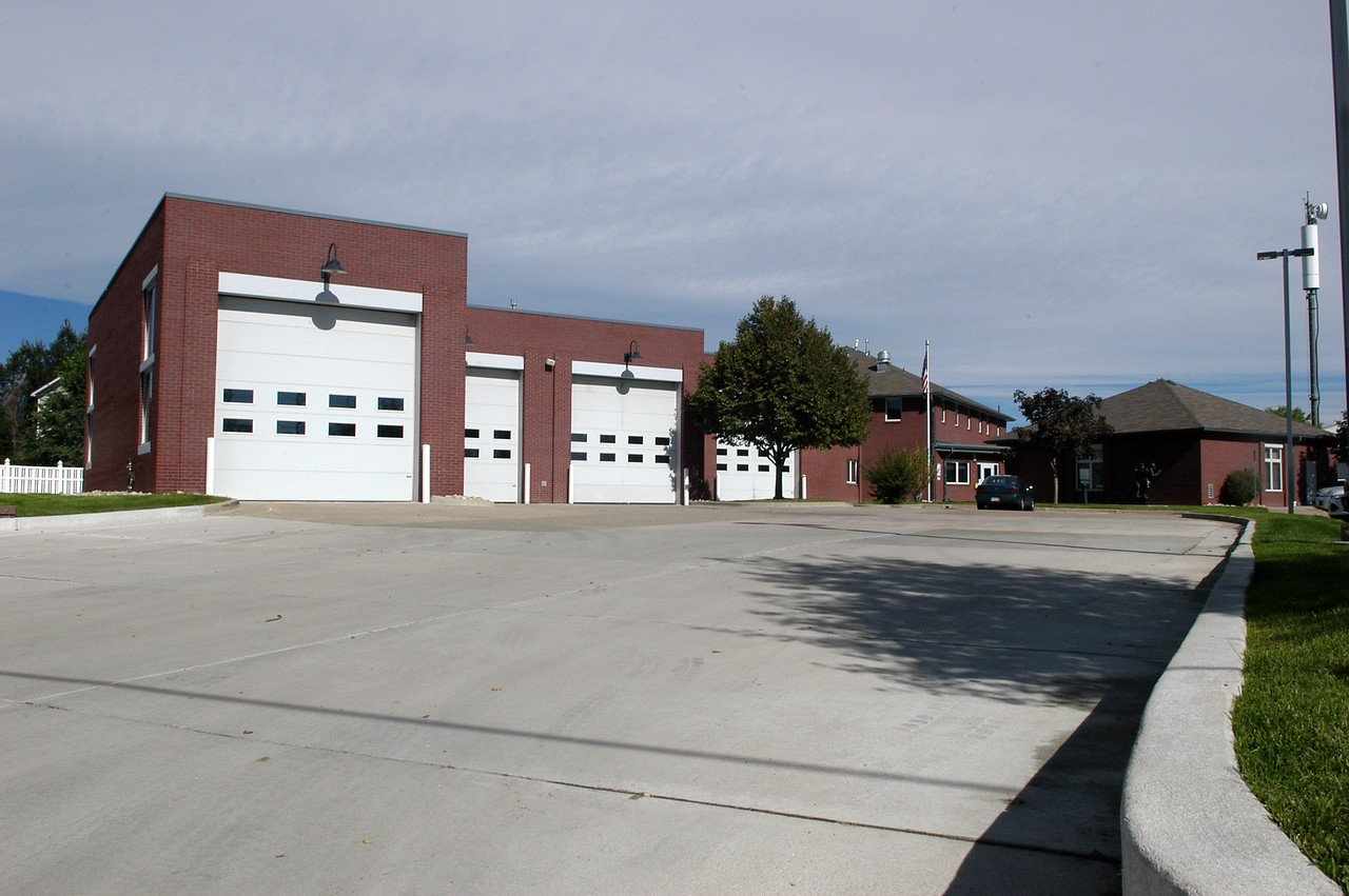 Street view of Adams County Fire Rescue Station 12