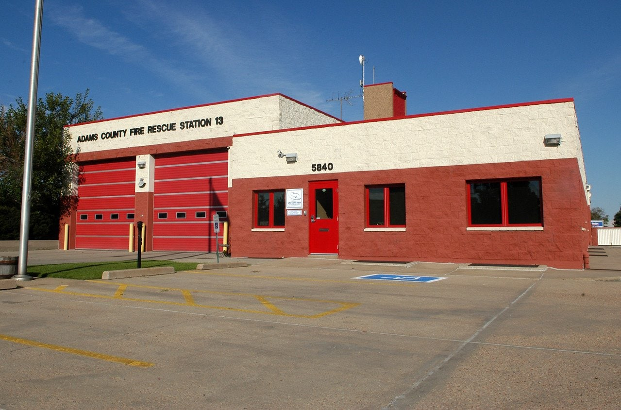 Street view of Adams County Fire Rescue Station 13