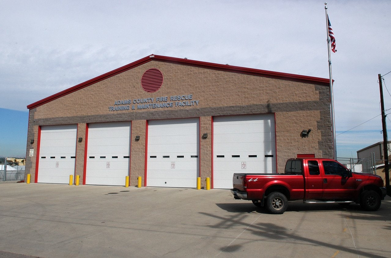 Street view of Adams County Fire Rescue Training Facilities